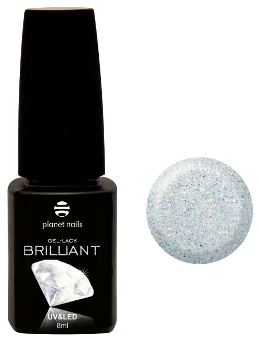 Гель лак planet nails Brilliant, 8 мл