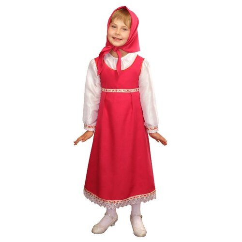 Купить Костюм Elite CLASSIC Аленушка, розовый, размер 32 (128), Карнавальные костюмы