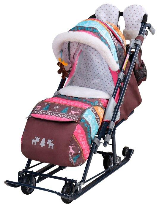 Санки-коляска Nika Ника Детям 7-7 (НД7-7)