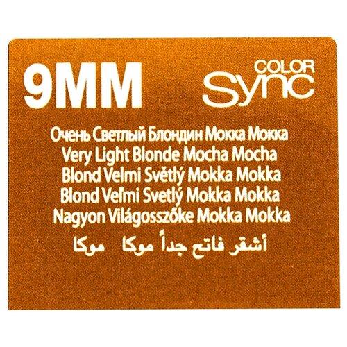 Купить Matrix Color Sync краска для волос без аммиака, 9MM очень светлый блондин мокка мокка, 90 мл