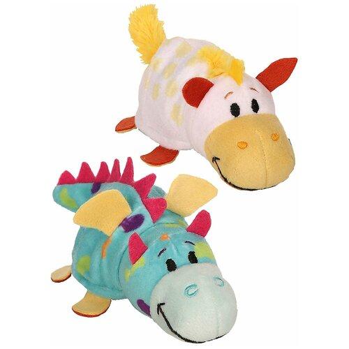 Мягкая игрушка 1 TOY Вывернушка Ням-Ням Единорог-Дракон с ароматом 12 см