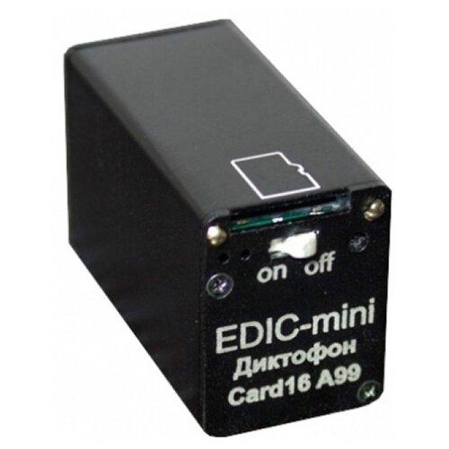 Купить Диктофон Edic-mini Card 16 A99 черный