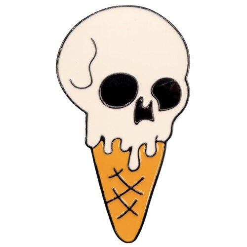 Фото - OTOKODESIGN Брошь Мороженое с черепом 53512 otokodesign брошь жемчуг с цепочкой 50869