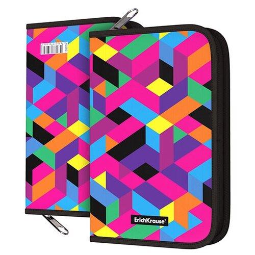 Купить ErichKrause Пенал-книжка Disco Style (49385) черный/розовый, Пеналы