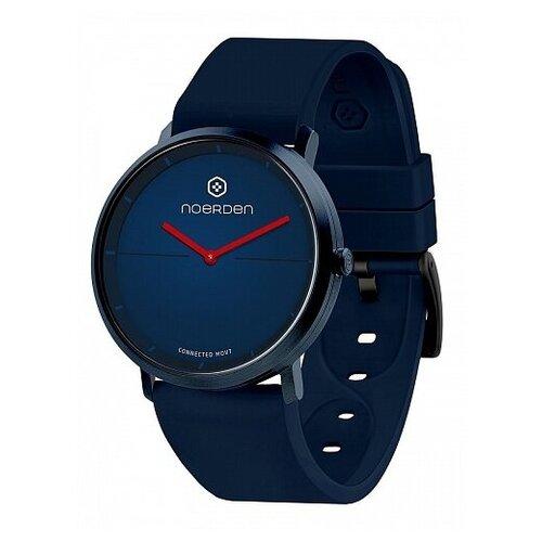 Смарт-часы Noerden гибридные LIFE2 синие