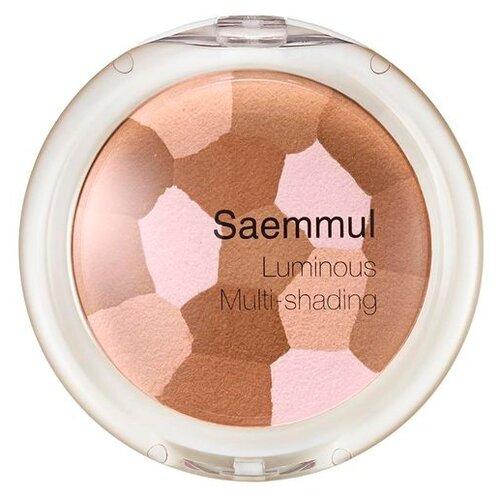 Купить The Saem Бронзатор Luminous Multi-shading бежевый/розовый