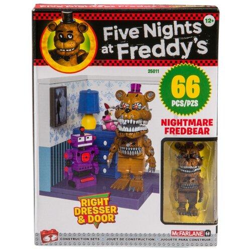Купить Конструктор McFarlane Toys Five Nights at Freddy's 25011 Right Dresser & Door, Конструкторы