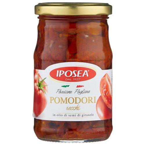 Томаты сушеные в масле Iposea стеклянная банка 280 г пудовъ томаты сушеные резаные 100 г