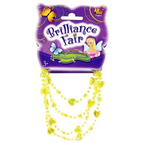 Купить Колье ABtoys Brilliance Fair 770073 Желтый, Украшения для девочек