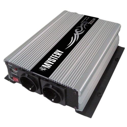 Преобразователь напряжения Mystery MAC-2000 серый/черный