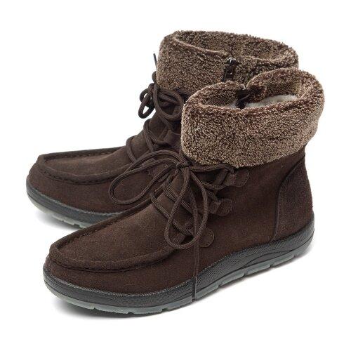 Женские ботинки натуральная кожа (замша) / искусственный мех orto алми 40485.0 размер 37 российский
