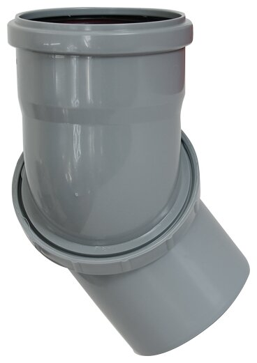 Отвод полипропилен поворотный° РосТурПласт 21873