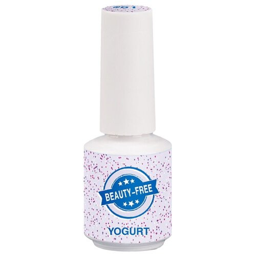 Гель-лак для ногтей Beauty-Free Yogurt, 8 мл, светло-лиловый  - Купить