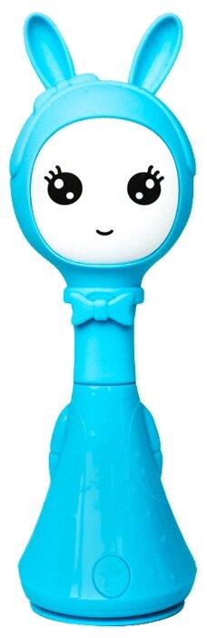 Интерактивная развивающая игрушка BertToys Умный Зайка Няня розовый