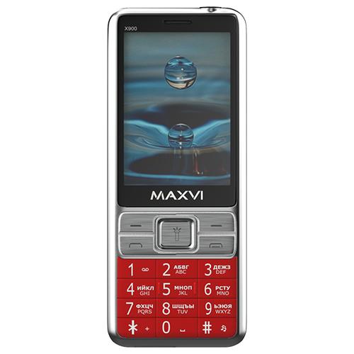 Фото - Телефон MAXVI X900 красный телефон maxvi x650 красный