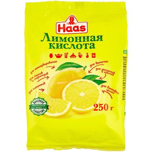 Haas Лимонная кислота 250 г