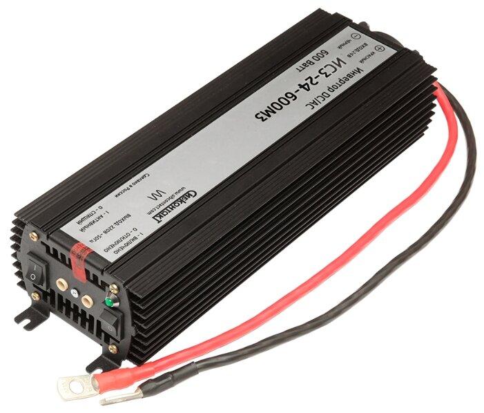 Инвертор СибКонтакт ИС3-24-600М3 DC-AC