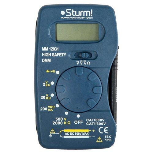 Мультиметр Sturm! MM12031 sturm cd3224l