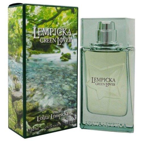 Фото - Туалетная вода Lolita Lempicka Green Lover, 50 мл парфюмерная вода lolita lempicka lolitaland 80 мл