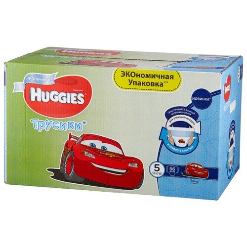 Купить Huggies трусики для мальчиков 5 (13-17 кг) 96 шт., Подгузники