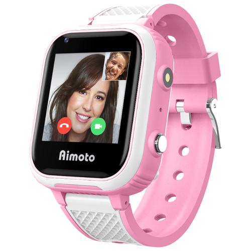 Детские умные часы c GPS Aimoto Indigo розовый