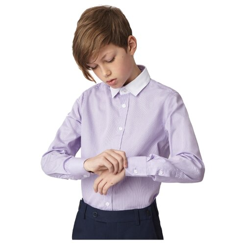 Купить Рубашка Gulliver размер 146, сиреневый, Рубашки