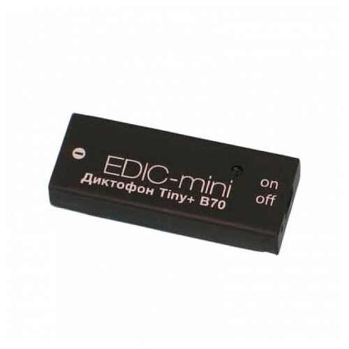 Диктофон Edic-mini Tiny+ B70-75