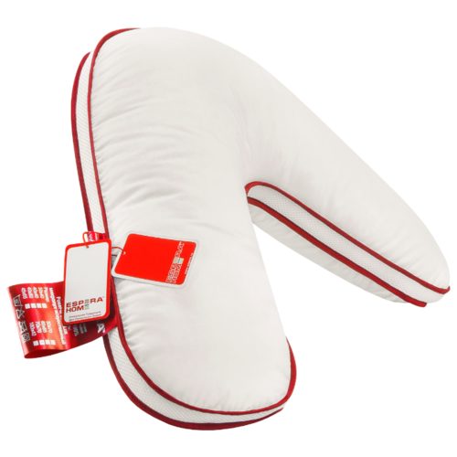 цена Подушка Espera Boomerang Luxury Quality (ЕС-5287) 65 x 65 см белый онлайн в 2017 году
