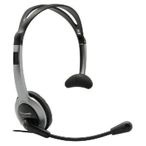цена на Проводная гарнитура Panasonic RP-TCA430E-S черно-серебристый