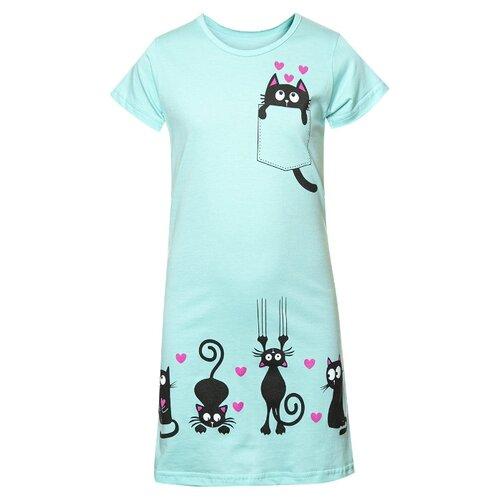 Купить Платье M&D размер 116, мятный, Платья и сарафаны