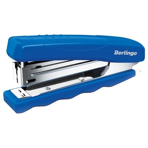 Купить Berlingo Степлер Comfort до 16 листов для скоб №10 синий, Степлеры, скобы, антистеплеры