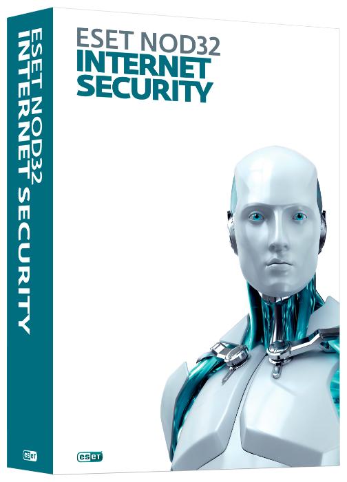 Антивирус ESET NOD32 Internet Security - продление