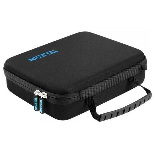 Фото - Telesin Кейс для камеры DJI OSMO Pocket и аксессуаров telesin защелка с двумя креплениями для камер и аксессуаров черный