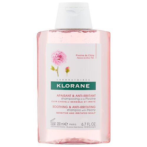 Klorane шампунь Soothing and Anti-Irritant with peony 200 мл klorane шампунь oil control shampoo with nettle 200 мл