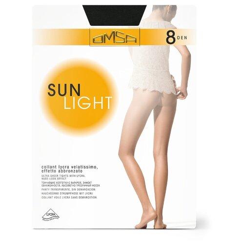 Колготки Omsa Sunlight 8 den, размер 4-L, nero (черный) колготки omsa superlativa sun 8 den размер 4 l nero черный