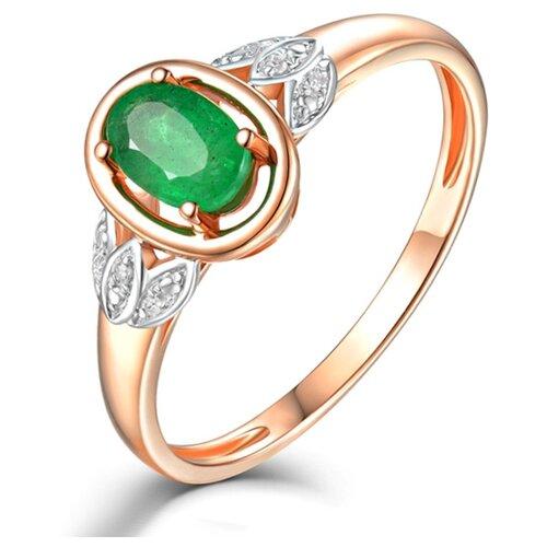 Бронницкий Ювелир Кольцо из красного золота R01-D-68996R002-R17, размер 17 бронницкий ювелир кольцо из красного золота r01 d 1983089ab r17 размер 17