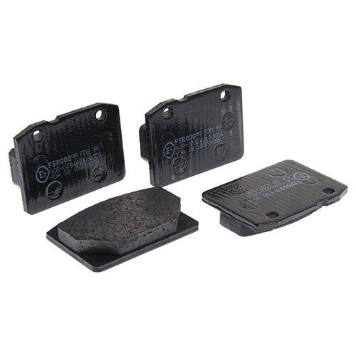 Фото - Дисковые тормозные колодки передние Ferodo FDB96 для LADA (ВАЗ) (4 шт.) дисковые тормозные колодки передние ferodo fdb4446 для mazda 3 mazda cx 3 4 шт