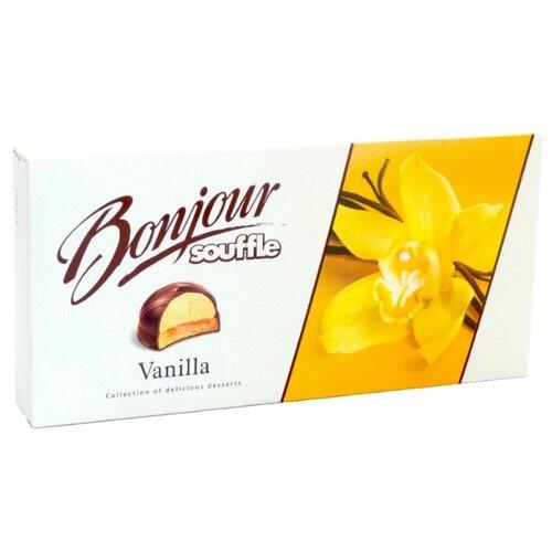 Пирожное Konti Bonjour Souffle Ваниль 232 г конфеты konti tom
