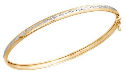 SOKOLOV Браслет жёсткий из золота с алмазной гранью 050364