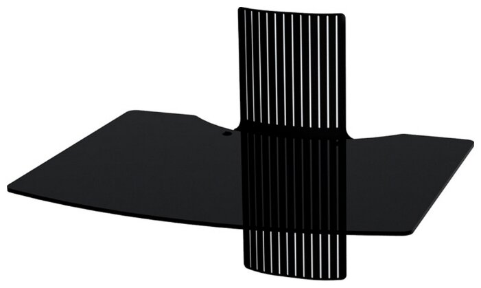 Купить Кронштейн на стену Mart AV-1 черный по низкой цене с доставкой из Яндекс.Маркета (бывший Беру)