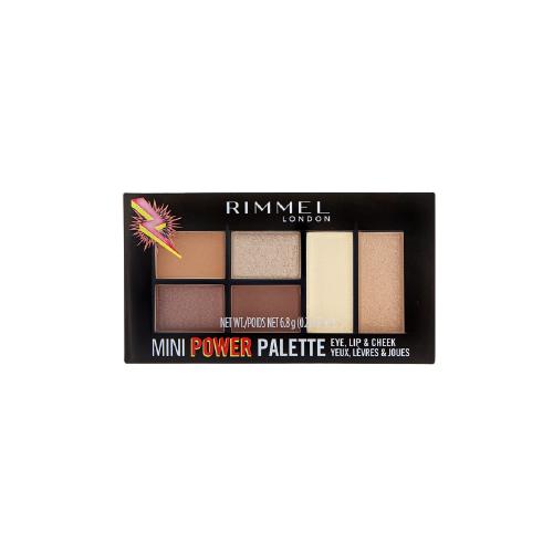 Rimmel Палетка для макияжа Mini Power Palette Fearless