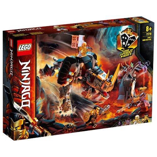 Купить Конструктор LEGO Ninjago 71719 Бронированный носорог Зейна, Конструкторы