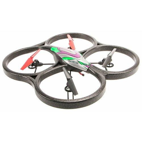 Квадрокоптер WL Toys V333 черный пульт управления wl toys v911 rc