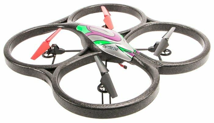 Квадрокоптер WL Toys V333 черный фото 1