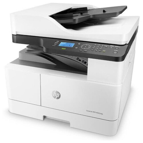 МФУ HP LaserJet MFP M443nda, белый