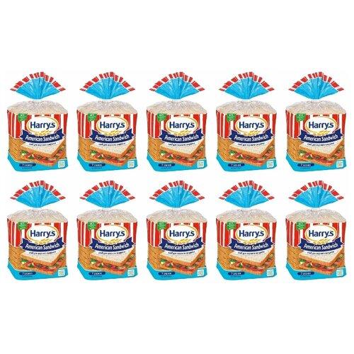 Harrys Хлеб American Sandwich 7 злаков сандвичный в нарезке 470 г