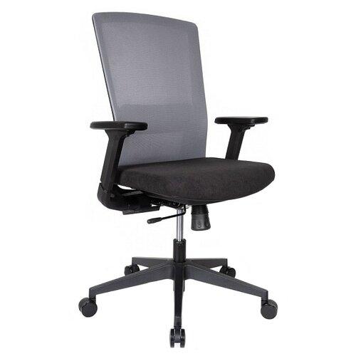 Компьютерное кресло College CLG-426 MBN-B офисное, обивка: текстиль, цвет: серый компьютерное кресло college clg 619 mxh b офисное обивка текстиль цвет бежевый