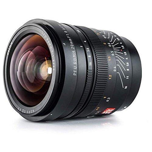 Фото - Объектив Viltrox PFU RBMH 20mm f/1.8 ASPH Sony E черный объектив viltrox pfu rbmh 20mm f 1 8 asph sony e черный