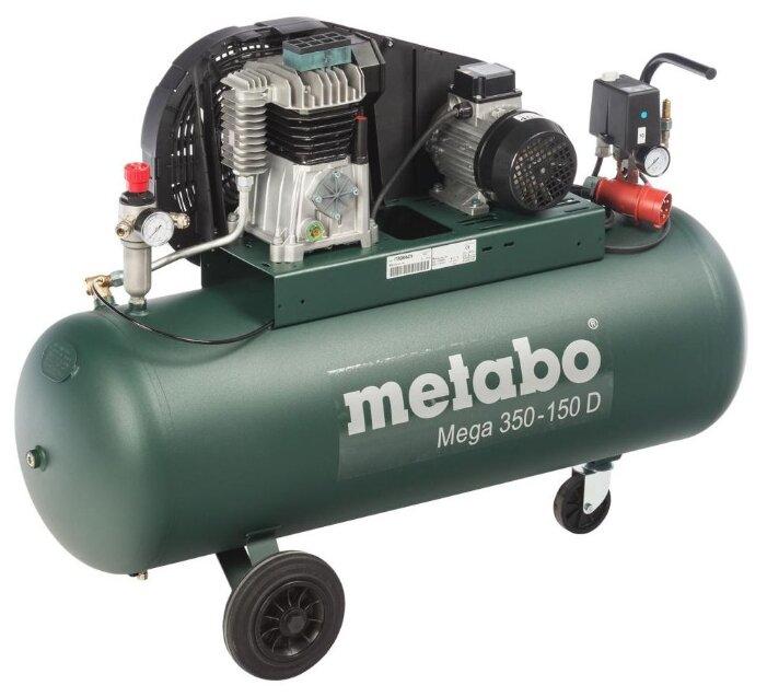 Компрессор масляный Metabo Mega 350-150 D, 150 л, 2.2 кВт
