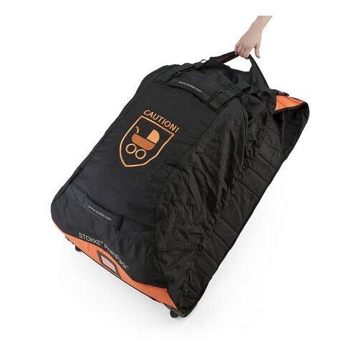 Stokke Сумка для переноски коляски PramPack черный/оранжевый сумка stokke changing bag v2